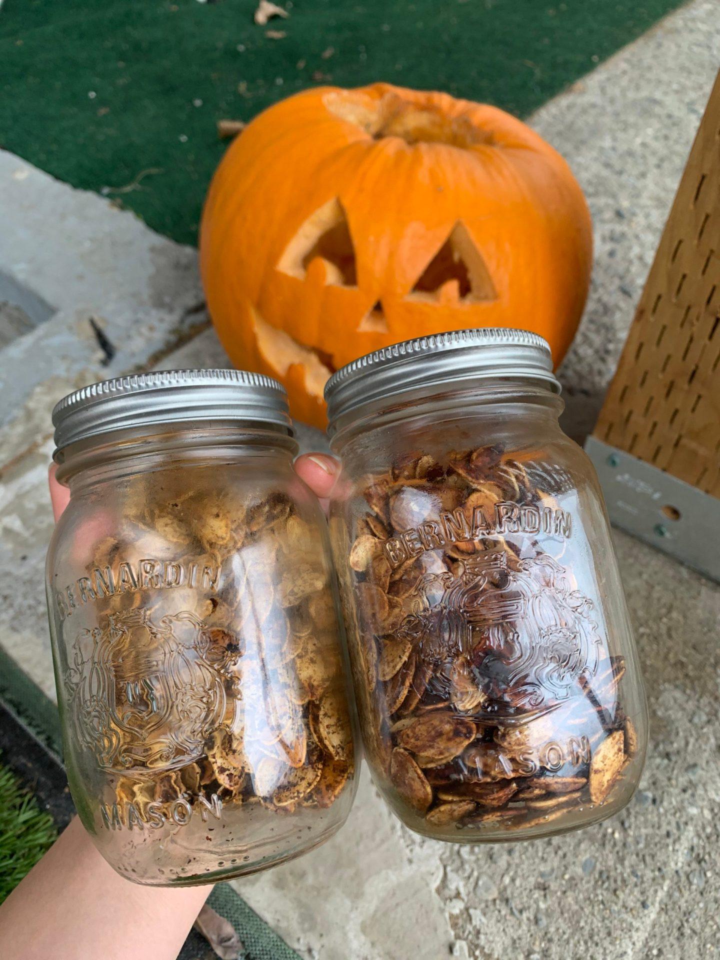 SWEET & SAVOURY: Two Tasty Roasted Pumpkin Seed Seasonings (Vegan)