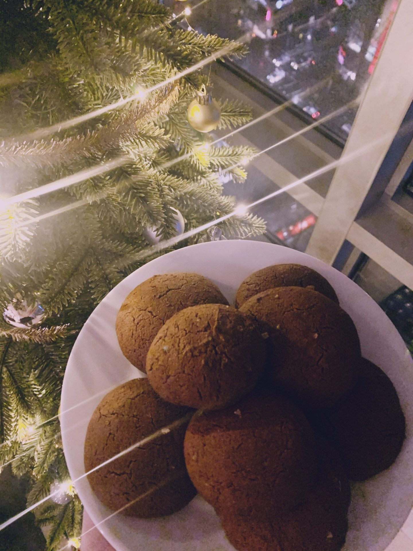 Soft Chai Ginger Molasses Cookies (Vegan & Gluten Free)