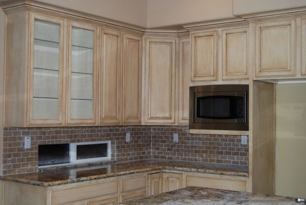 Paint Faux Finish Kitchen Cabinets