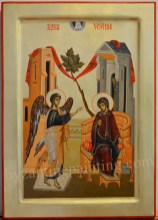 icon painting The Annunciation
