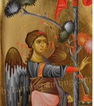 The Annunciation detail, byzantine icons for sale