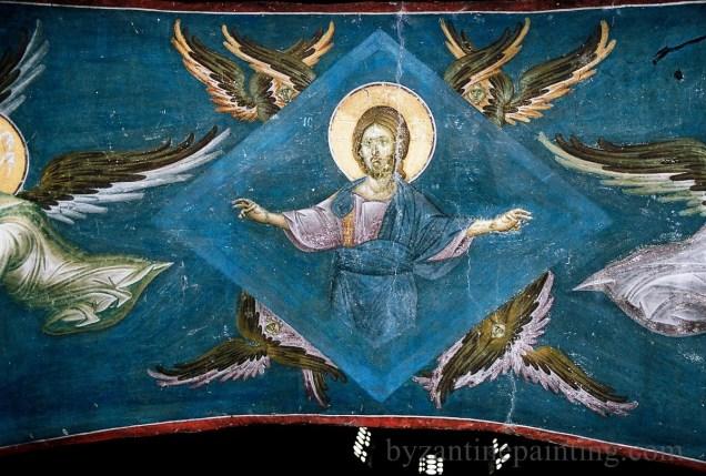 Mural painting Gracanica monastery (1)