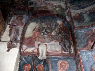Mural painting from the Cozia Monastery (28)