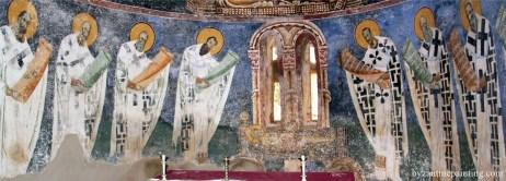 Mural painting Kurbinovo Macedonia (21)