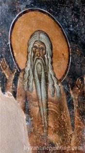 Mural painting Kurbinovo Macedonia (3)