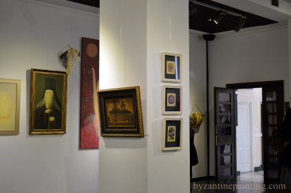 Contemporary religious art exhibition