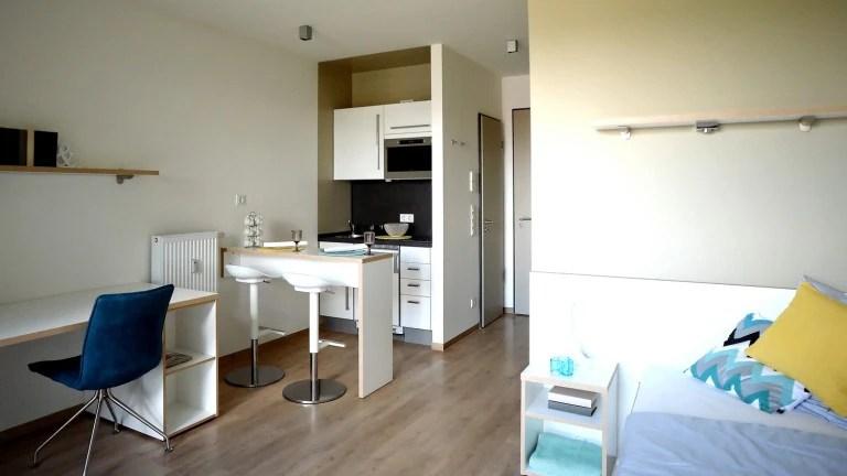 Eine Studentenwohnung in Berlin kostet rund 400 Euro im