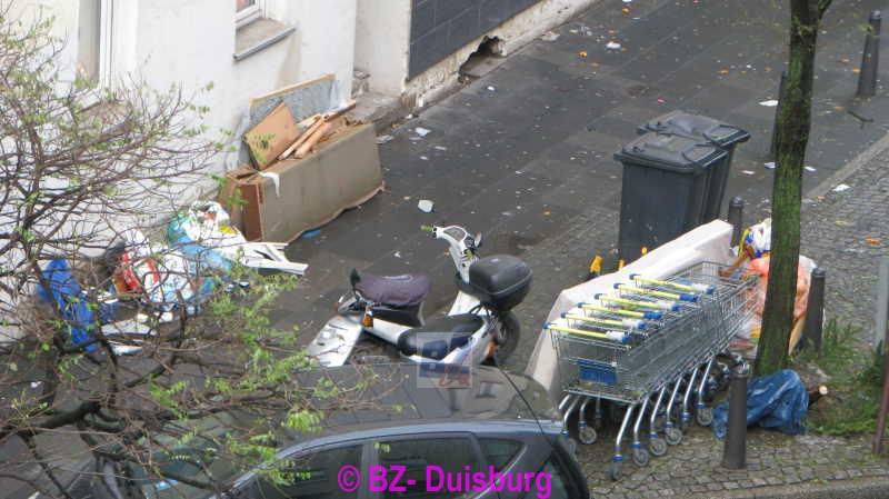 BZ Duisburg lokal Hochfeld Offener Brief des Klngelklubs