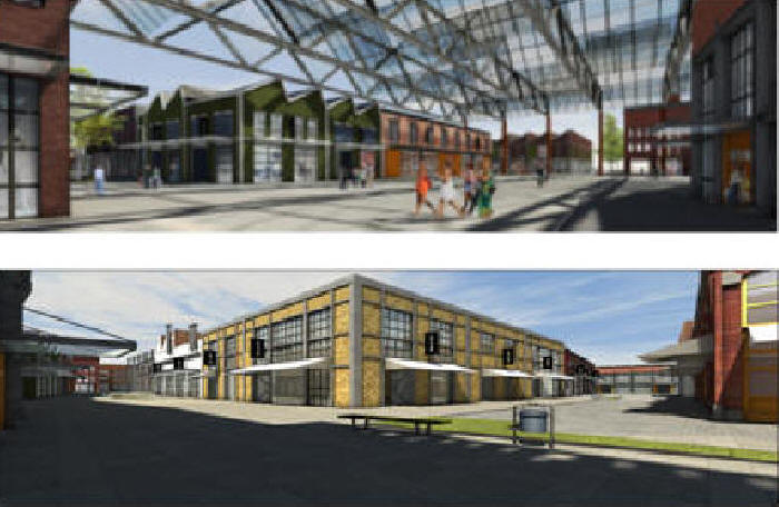 BZ Duisburg Lokal Stadtentwicklung Factory outlet FOC Hamborn BZ Brger Zeitung Duisburg