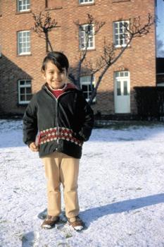 Jyoti In The Snow