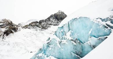 Bolzano, lo scioglimento dei ghiacciai in una proiezione