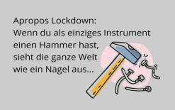 Lockdown-Witz