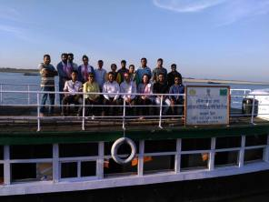 onboard with the visitors from SELCO