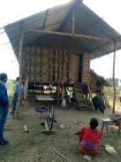 Mishing and Deori community people live in Stilt houses locally called Chang Ghar to protect themselves from floods and other natural calamities.