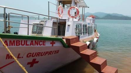 The boat clinic at Malkangiri, Odisha