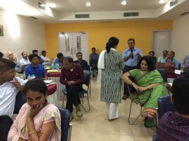 An interactive session