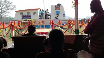 The Goalpara Boat Clinic awarded for its tableau at the district Republic Day celebration at Goalpara