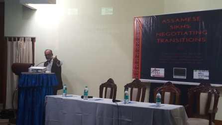 Mr. Sanjoy Hazarika giving his remarks