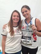 Lisa Davies and Laura Adams Post Race