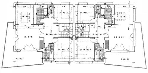 Plan Maison Mitoyenne Avec Etage U2013 Ventana Blog