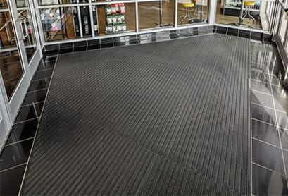 entry mats grids vs carpet tiles