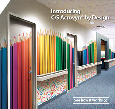 Acrovyn Wall Covering  Panels  High impact Saratoga