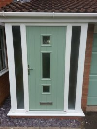 A selection of Composite Front Door Styles - C-Thru Windows