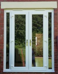 French doors and side panels Telford - C-Thru Windows