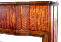 1920s Fireplace Mantel in Walnut