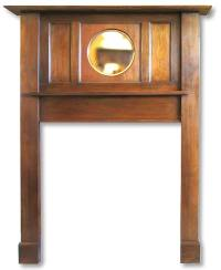 1920s Fireplace Mantel