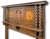 1920s fireplace mantel in Oak | Twentieth Century Fireplaces