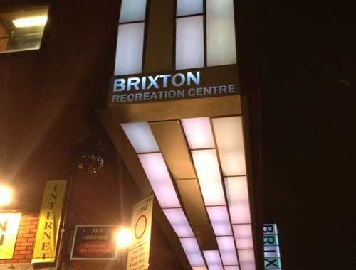 Brixton Recreation Centre, photo courtesy of the Twentieth Century Society