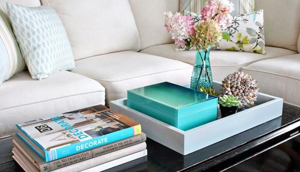 Add style to your coffee table