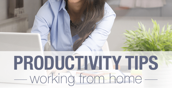 Working form home - blog