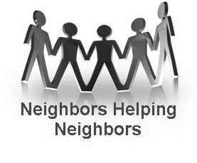Image result for Neighbors helping Neighbors