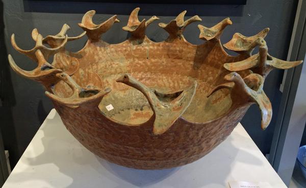 Michael Imes hand built bowl