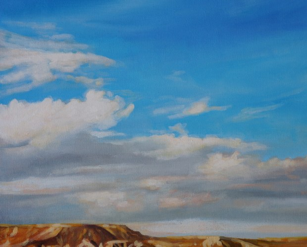 Mesa Sky Michelle Courier painting