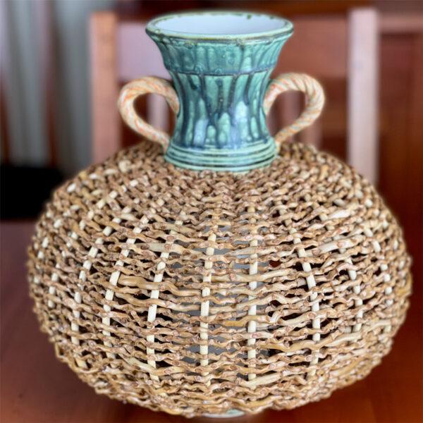 Classic Palm Vase by Stephen Kostyshyn