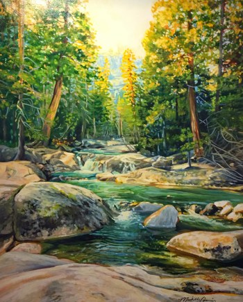 september light landscape painting by michelle t courier
