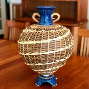 Large Vase handmade by Stephen Kostyshyn