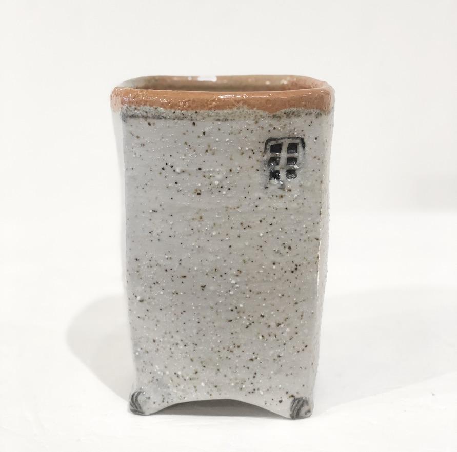 beach sand vase by Cyndi Casemier