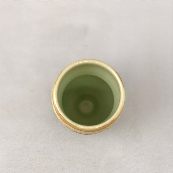 Inside View of Handmade Yunomi by Richard Aerni