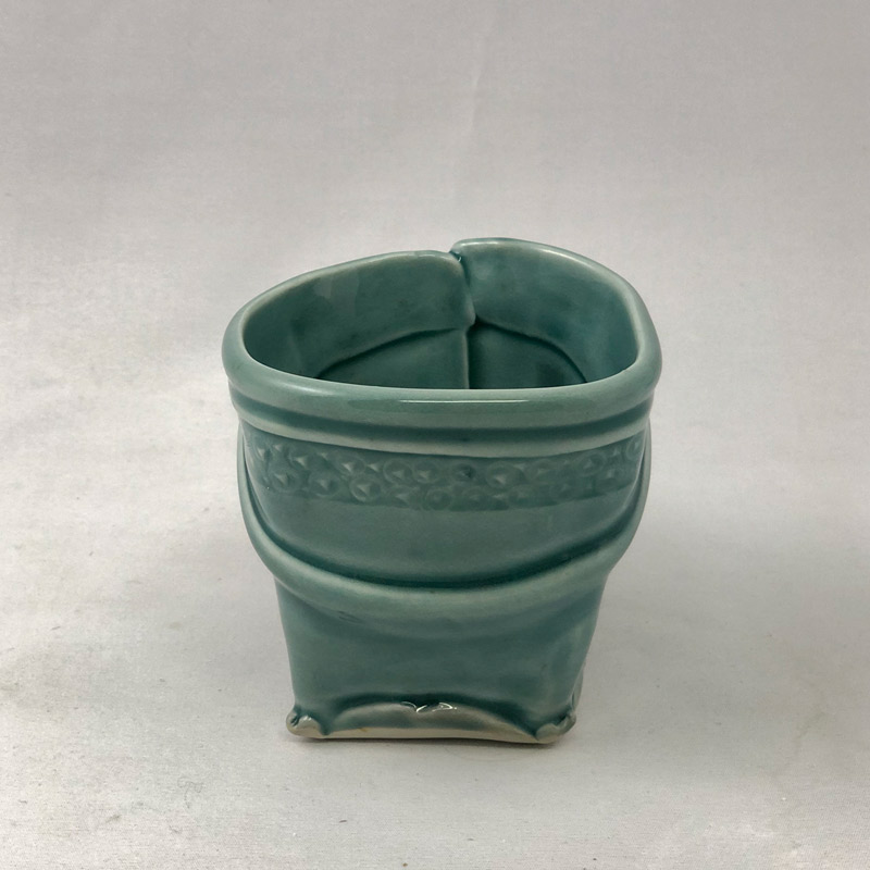 Additional view of softly squared mug by Marion Angelica