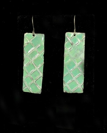 Aqua X Earring by Julie Billups