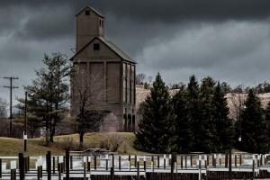Coal Tipple Art Photograph by Bob Walma