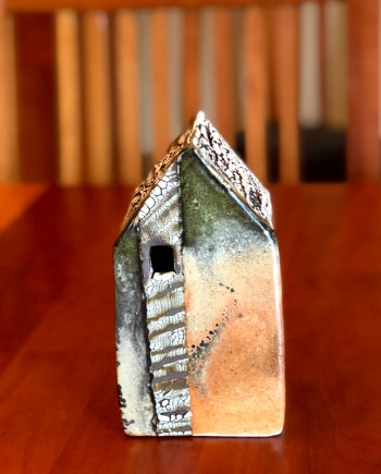 Medium Ceramic Cottage by Cyndi Casemier