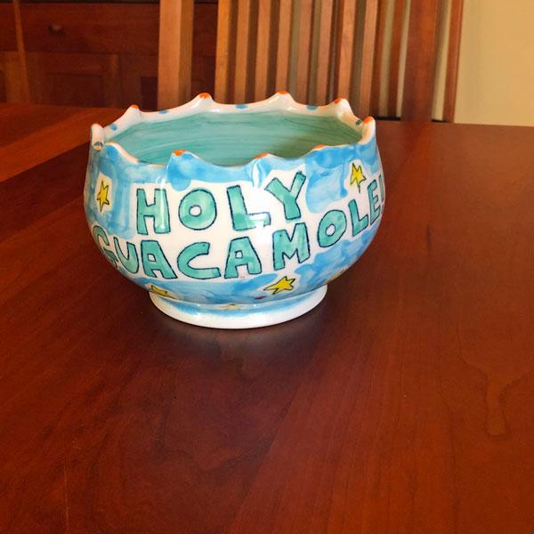 holy guacamole bowl