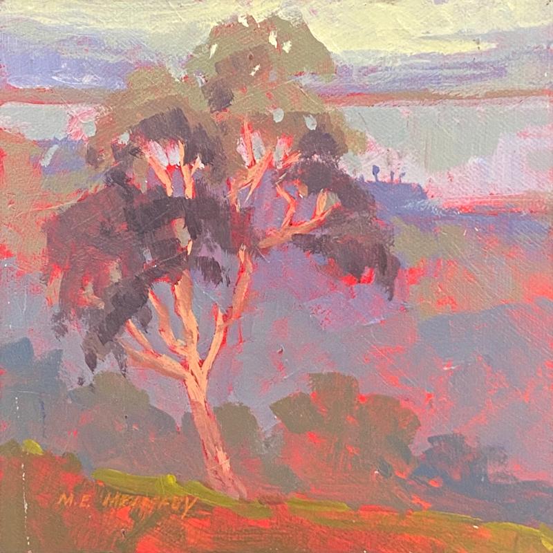 landscape paintin by mark mehaffey