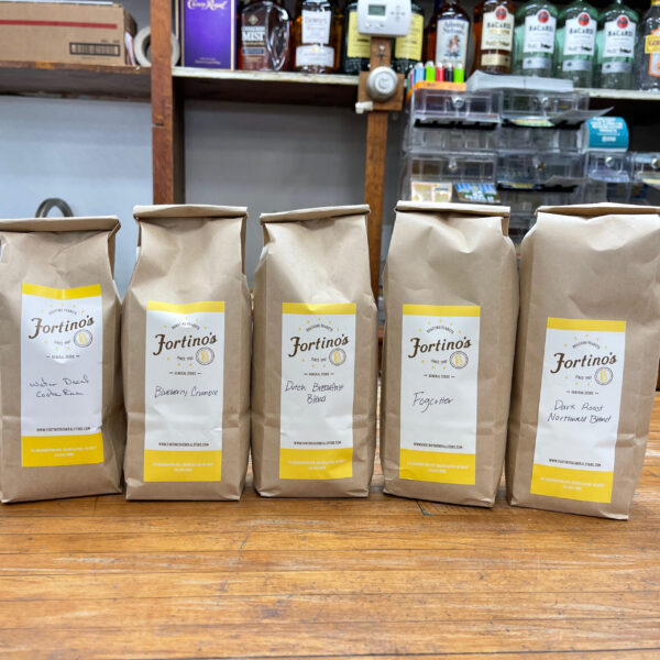 Flavors available of Fortinos coffee