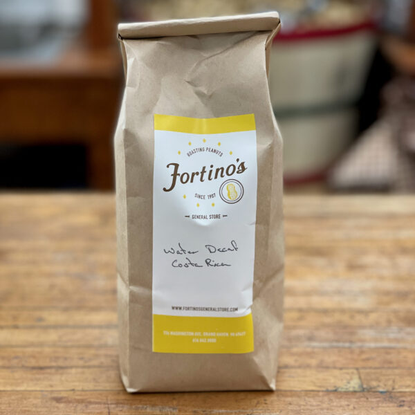 Water Decaf Costa Rica Fortinos Coffee Beans